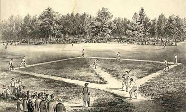 cómo se originó el béisbol