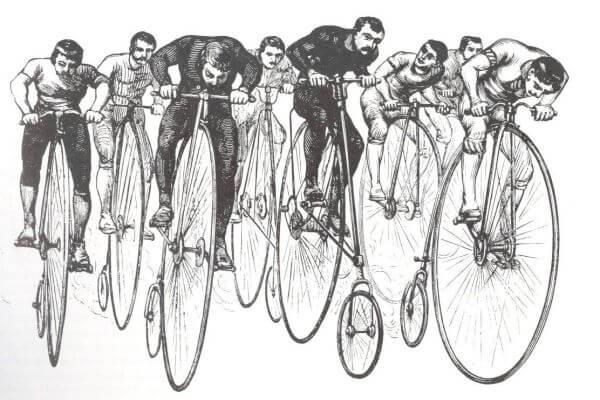 cuándo nace el ciclismo