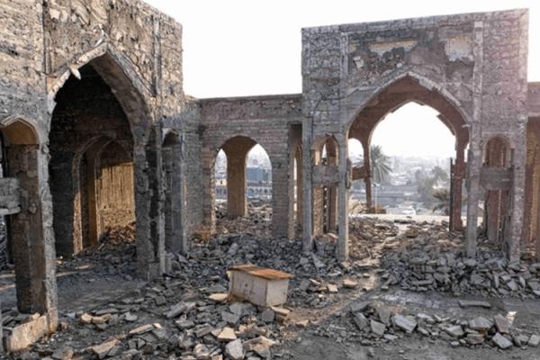 cuándo se descubrió el Palacio de Senaquerib