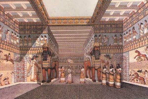 tamaño palacio Senaquerib