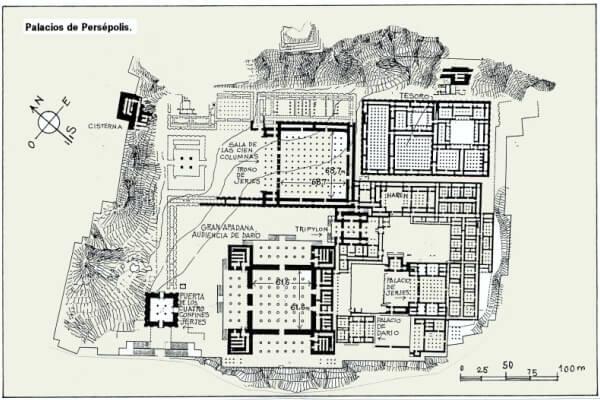 arquitecto Palacio de Persépolis
