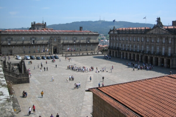 origen plaza del Obradoiro