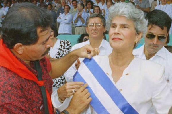primera mujer presidente de Nicaragua