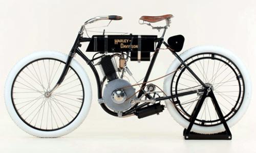 primera motocicleta Harley Davison