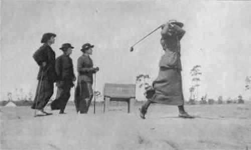 Primera golfista profesioanl