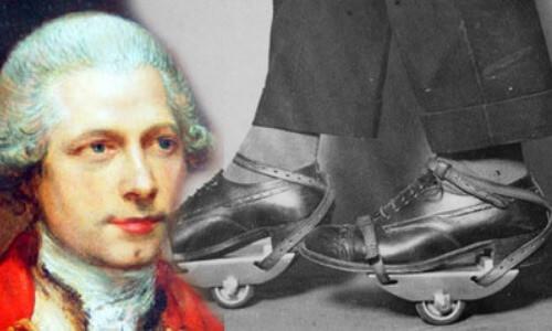 Quién inventó los patines