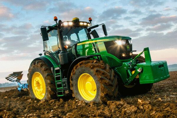 cronología historia del tractor