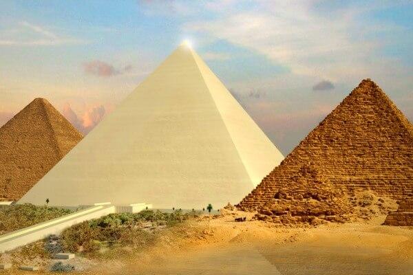 la gran pirámide maravilla mundo antiguo
