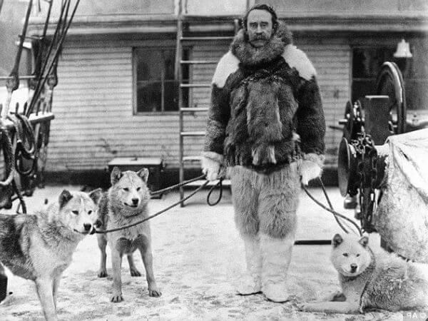 quién llegó primero al Polo Norte