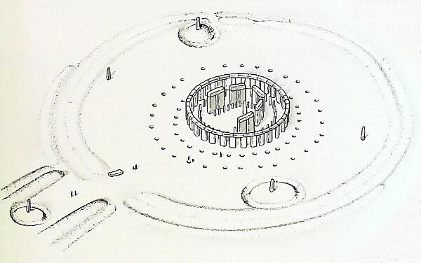 cómo era stonehenge