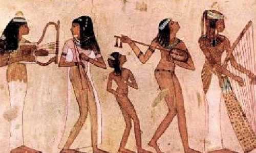 teatro en el antiguo egipto
