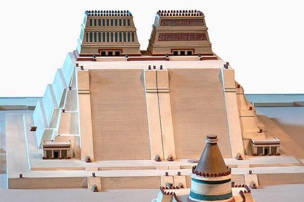 ¿Cómo era el Templo Mayor de Tenochtitlan?