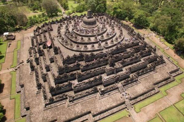 Templo de Borobudur reseña histórica