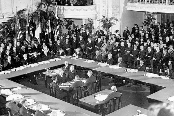 Qué es el tratado de Versalles