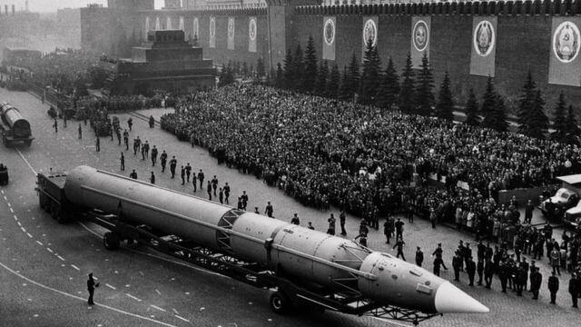 guerra fría URSS-USA