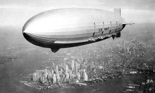 El auge del dirigible