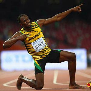 actual record 100 metros lisos atletismo