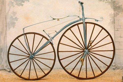 modelo bicicleta Pierre Michaux