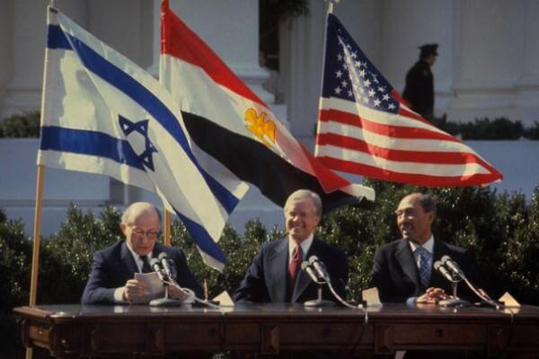 historia paz Egipto e Israel