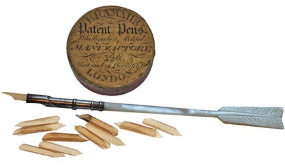 precedentes históricos de la pluma estilográfica