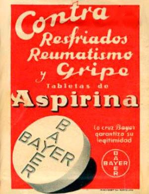 anuncio publicidad aspirina