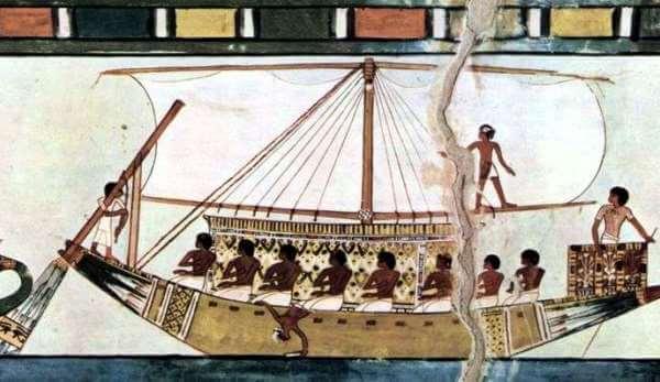 quién inventó el barco