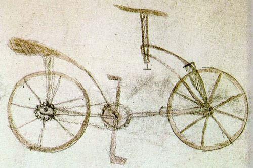 bicicleta Leonardo da Vnci