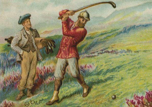 historia del golf para niños