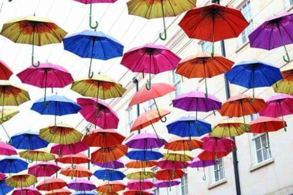 breve historia del paraguas