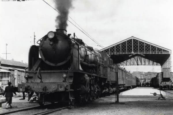 resumen historia del tren