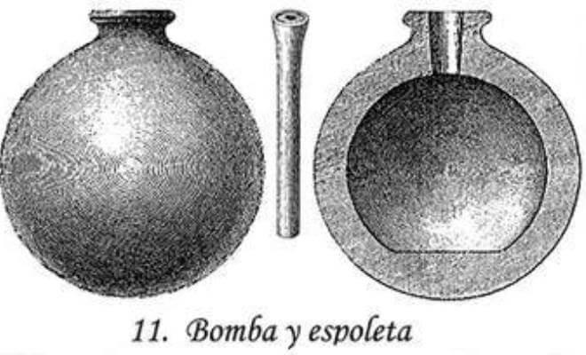 diseño de las primeras bombas