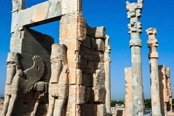cuándo se construyó el Palacio de Persépolis