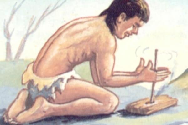 cómo hacían el fuego en la prehistoria