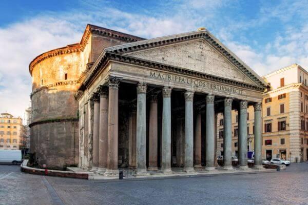 características y dimensiones del Panteón de Roma