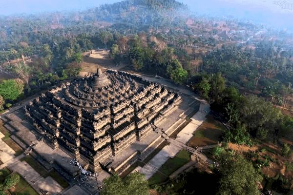 templo de Borobudur características