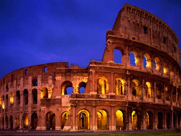 dónde está coliseo romano
