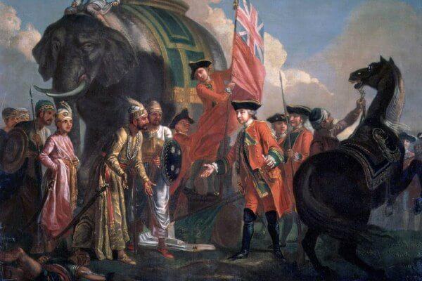 historia de la colonización india