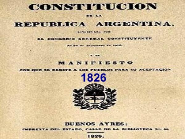 Historia de la república Argentina