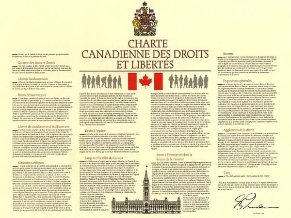 constitución canadiense historia