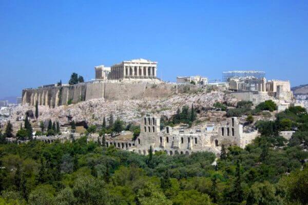 quién construyó Acrópolis de Atenas