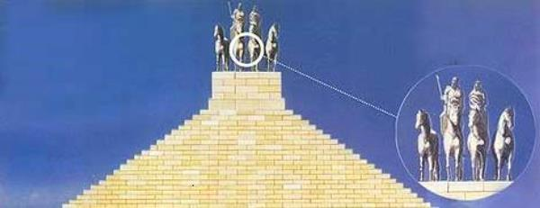 quién construyó El mausoleo de Halicarnaso