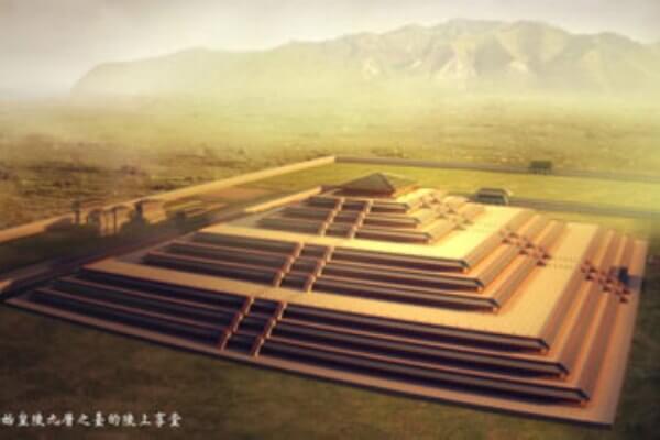 cuándo se construyo la tumba de Qin Shi Huang