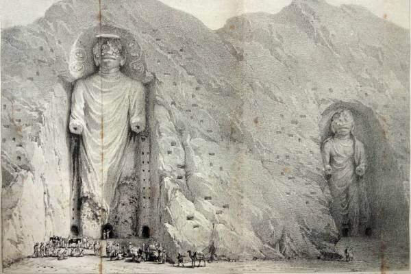 tallado budas de bamiyan