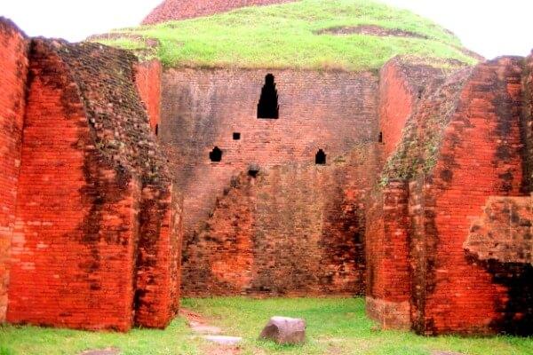 cuándo se construyó Vihara budista de Paharpur