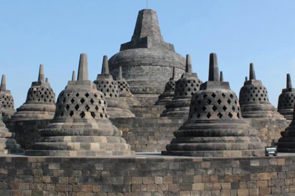 cuándo se construyó templo de Borobudur