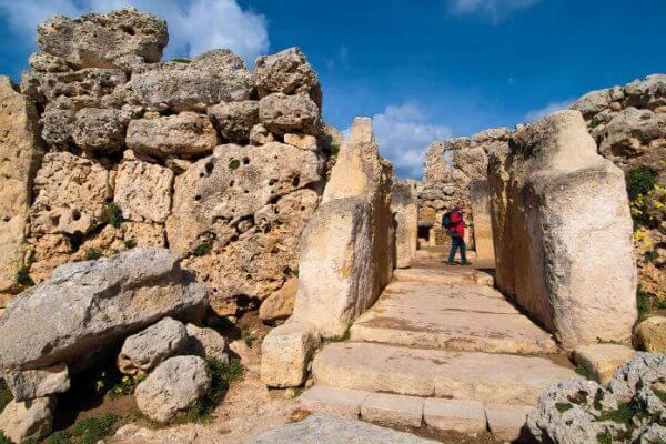 artículo histórico templos Ggantija