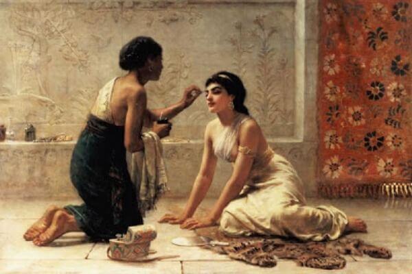 maquillaje Grecia Clásica
