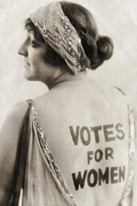 origen e historia del derecho a voto de la mujer