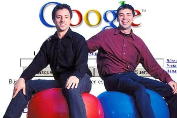 en qué año y cómo surgió Google
