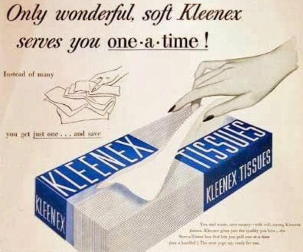 de dónde viene el pañuelo de papel